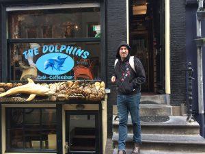 דולפין קופי שופ אמסטרדם